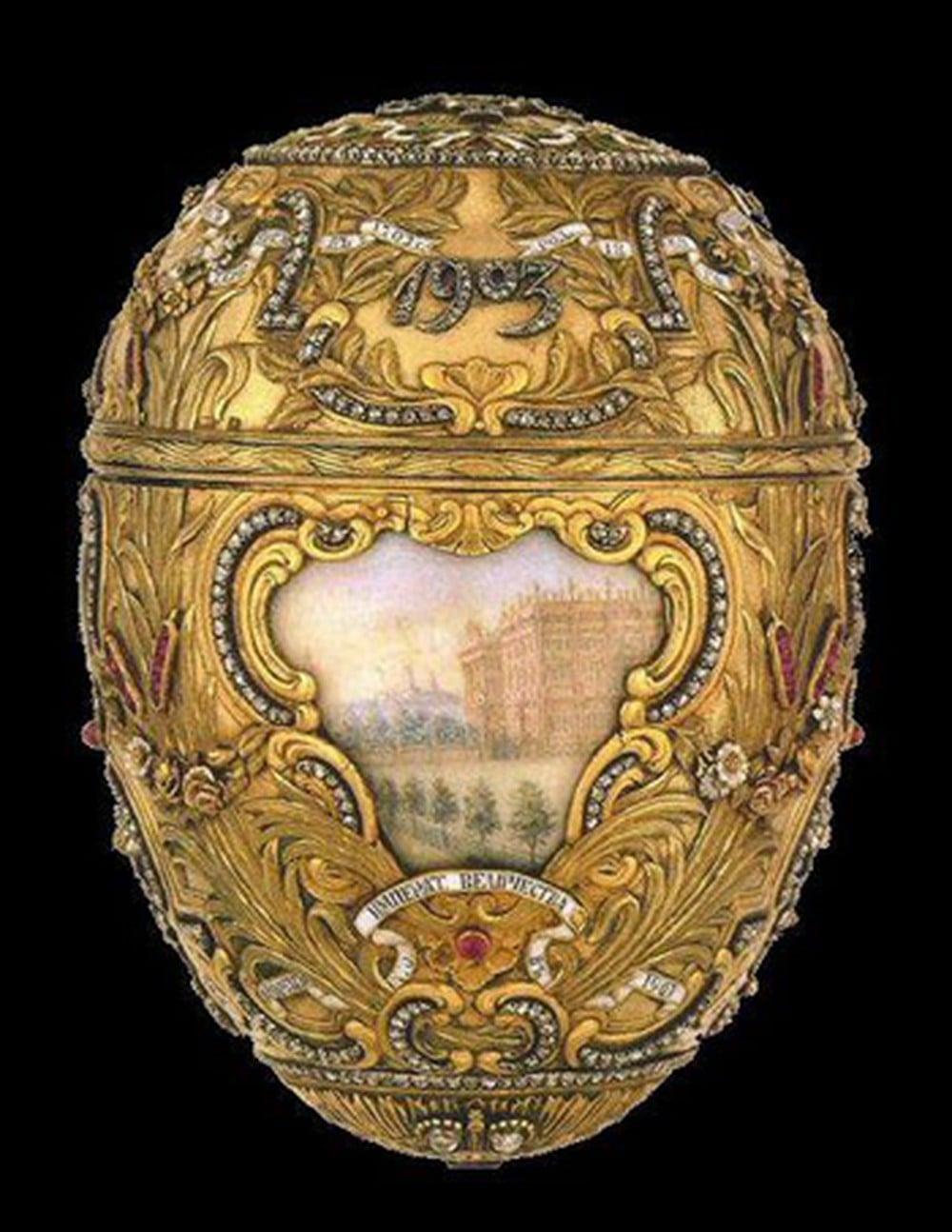 Bất ngờ trong những quả trứng đính kim cương, vàng của Sa hoàng 1