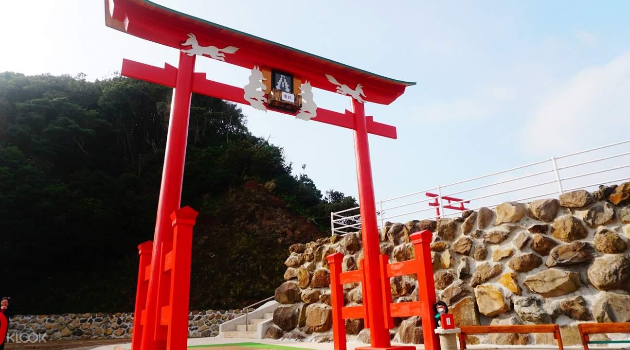 Kết quả hình ảnh cho Đền Motonosumi Inari