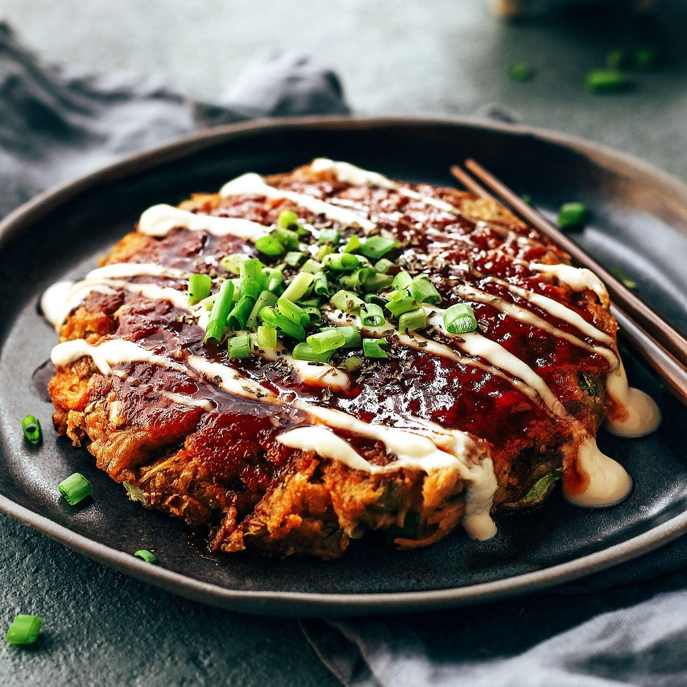 Kết quả hình ảnh cho Okonomiyaki