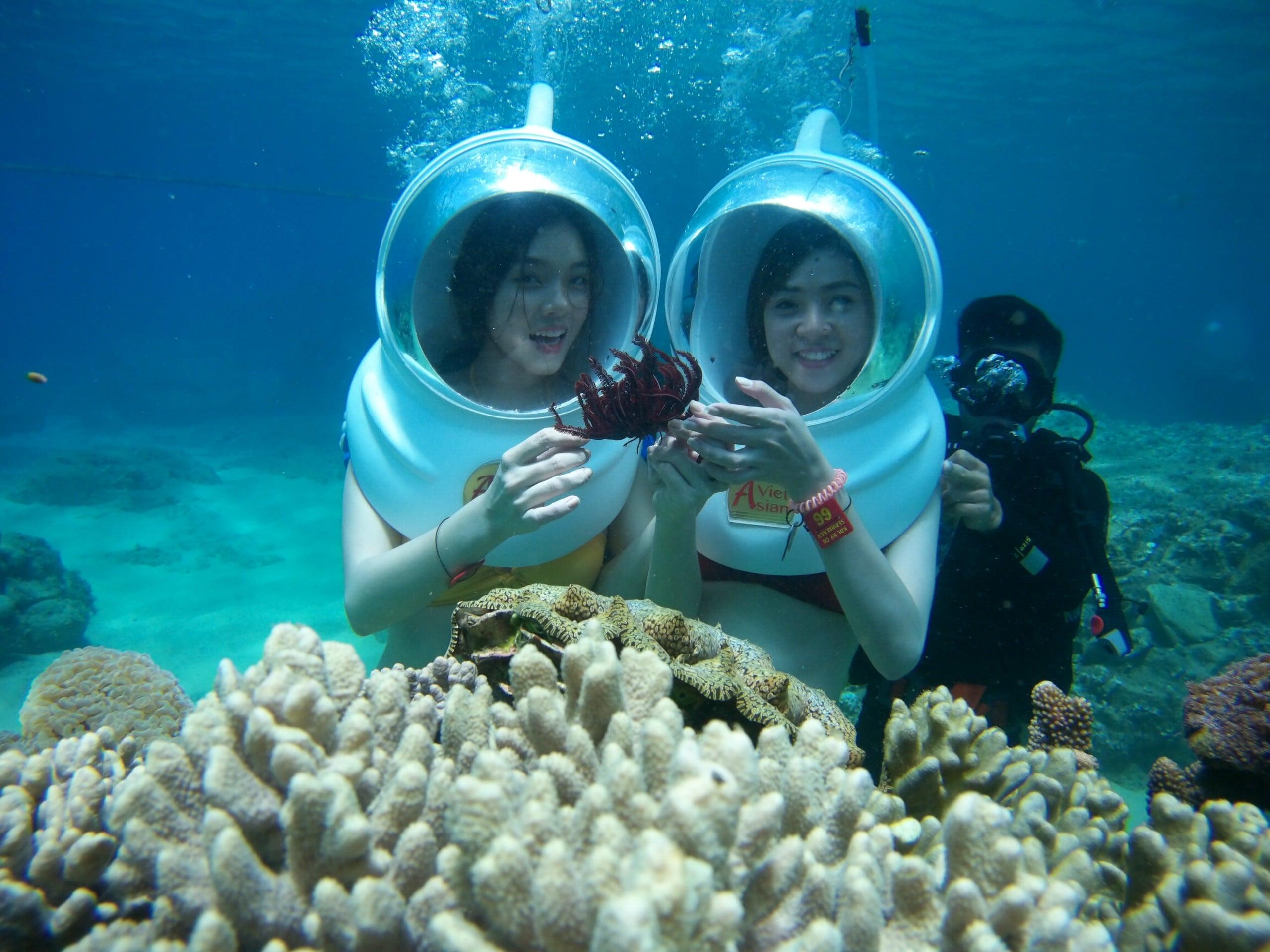 Trải nghiệm đi bộ dưới đáy biển ngắm san hô ở Phú Quốc 1